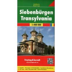 Freytag a Berndt Sedmihradsko/Transylvánie 1:400 000 automapa