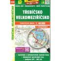 SHOCart 450 Třebíčsko, Velkomeziříčsko 1:40 000 turistická mapa