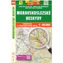 SHOCart 469 Moravskoslezské beskydy 1:40 000 turistická mapa