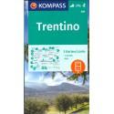 Kompass 683 Trentino 1:50 000 turistická mapa