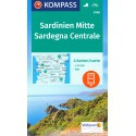 Kompass 2498 Sardegna Centrale/Sardinie střed 1:50 000 turistická mapa