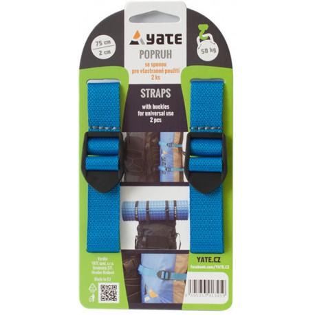 Yate kompresní popruh se sponou 2x75 cm modrý