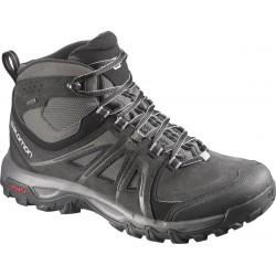 Salomon Evasion Mid GTX black/autobahn/pewter 376909 pánské trekové nepromokavé boty 1