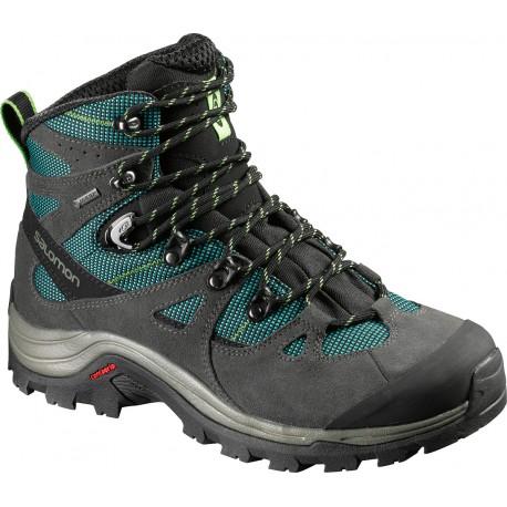 Salomon Discovery GTX W asphalt/veridian green 390408 dámské nepromokavé trekové boty