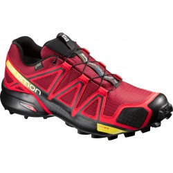 Salomon Speedcross 4 GTX brique-x/radiant red 383150 pánské nepromokavé běžecké boty