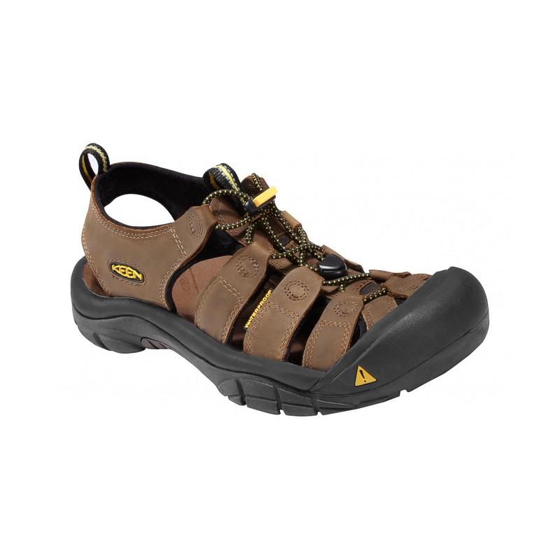 875b8f6bb65 Keen Newport M bison pánské kožené outdoorové sandály