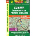 SHOCart 434 Šumava, Železnorudsko, Povydří, Churáňov 1:40 000 turistická mapa