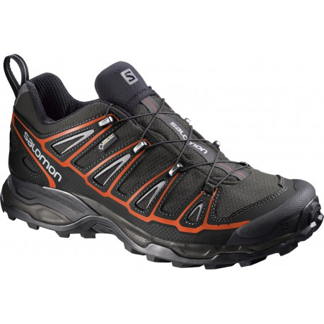 Salomon X Ultra 2 GTX autobahn/black/tomato red 381637 pánské nízké nepromokavé boty