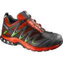 Salomon XA Pro 3D GTX radiant red/black/gecko green 391858 pánské nepromokavé běžecké boty