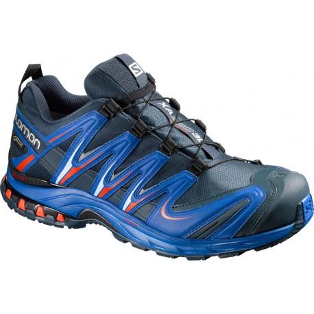 Salomon XA Pro 3D GTX deep blue/yonder/lava orange 390720 pánské nepromokavé běžecké boty
