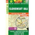 SHOCart 474 Slovenský raj 1:40 000 turistická mapa
