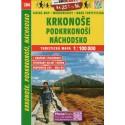 SHOCart 204 Krkonoše, Broumovsko 1:100 000 turistická mapa