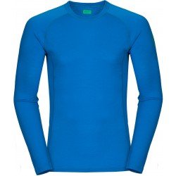Zajo Bjorn Merino T-shirt LS Blue jewel pánské triko dlouhý rukáv Merino vlna