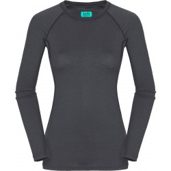 Zajo Elsa Merino W T-shirt LS gray dámské triko dlouhý rukáv Merino vlna