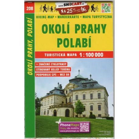 SHOCart 208 Okolí Prahy, Polabí 1:100 000