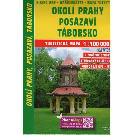 SHOCart 209 Okolí Prahy, Posázaví, Táborsko 1:100 000