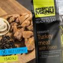 Adventure Menu Krůtí maso na cibulce 2 porce 200g sterilované jídlo na cesty