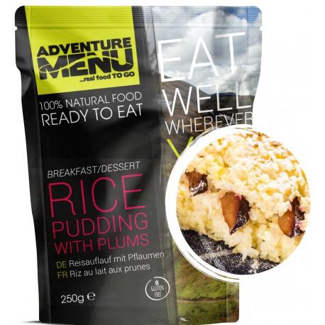 Adventure Menu Rýžový nákyp se švestkami 1 porce 250g sterilované jídlo na cesty