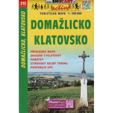 SHOCart 212 Domažlicko, Klatovsko 1:100 000