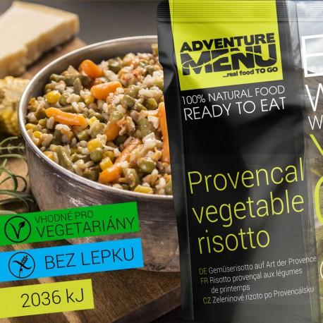 Adventure Menu Zeleninové rizoto po Provencálsku  1 porce 400g sterilované jídlo na cesty