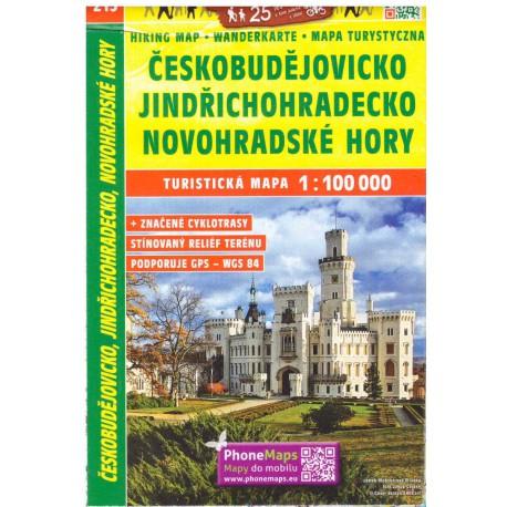 SHOCart 215 Českobudějovicko, Jindřichohradecko, Novohradské hory 1:100 000
