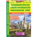SHOCart 215 Českobudějovicko Jindřichohradecko, Novohradské hory 1:100 000 turistická mapa