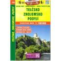 SHOCart 216 Telčsko, Znojemsko, Podyjí 1:100 000 turistická mapa