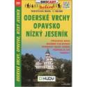 SHOCart 221 Opavsko, Oderské vrchy, Nízký Jeseník 1:100 000 turistická mapa