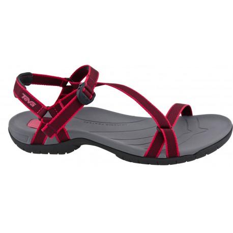 Teva Zirra W 1000035 Red dámské sandály i do vody