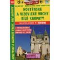 SHOCart 222 Hostýnské vrchy, Bílé Karpaty 1:100 000 turistická mapa