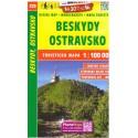 SHOCart 223 Beskydy, Ostravsko 1:100 000 turistická mapa