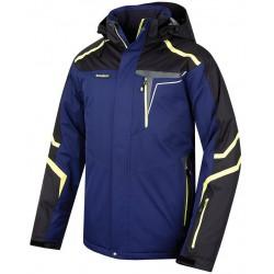 Husky Gaven tmavě modrá pánská nepromokavá zimní lyžařská bunda Aquablock Plus 1