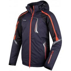 Husky Gris antracit pánská nepromokavá zimní lyžařská bunda Aquablock Plus
