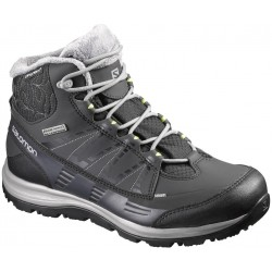 Salomon Kaina CS WP 2 black/flashy-x 390591 dámské zimní nepromokavé boty