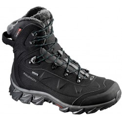 Salomon Nytro GTX W black/teal blue 391844 dámské zimní nepromokavé boty