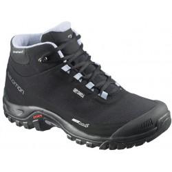 Salomon Shelter CS WP W black/stone blue 376873 dámské zimní nepromokavé boty