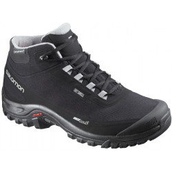 Salomon Shelter CS WP black/pewter 372811 pánské zimní nepromokavé boty