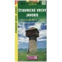 SHOCart 1092 Štiavnické vrchy, Javorie 1:50 000 turistická mapa