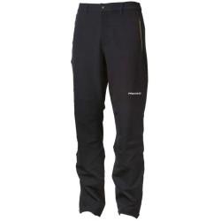 Progress Axcess černá pánské softshellové turistické kalhoty