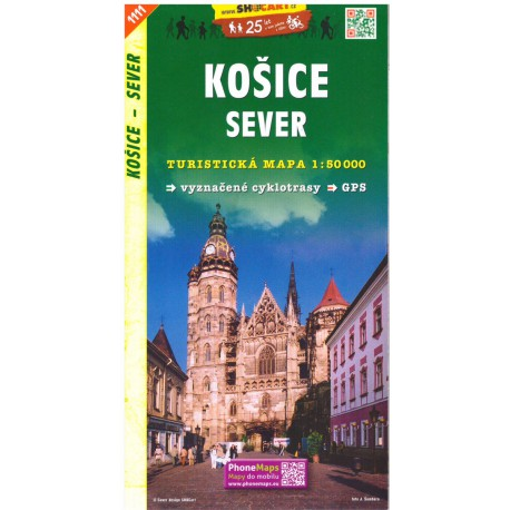 SHOCart 1111 Košice sever 1:50 000