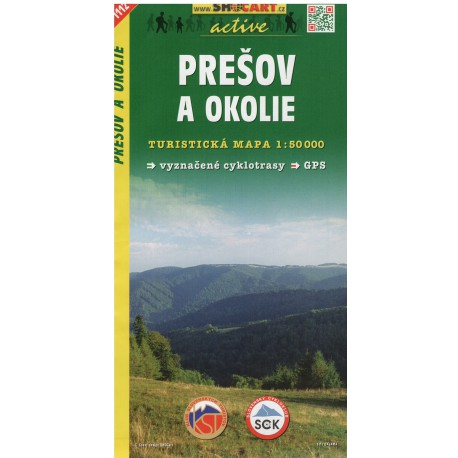 SHOCart 1112 Prešov a okolí 1:50 000