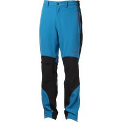 Progress Axcess modrá pánské softshellové turistické kalhoty