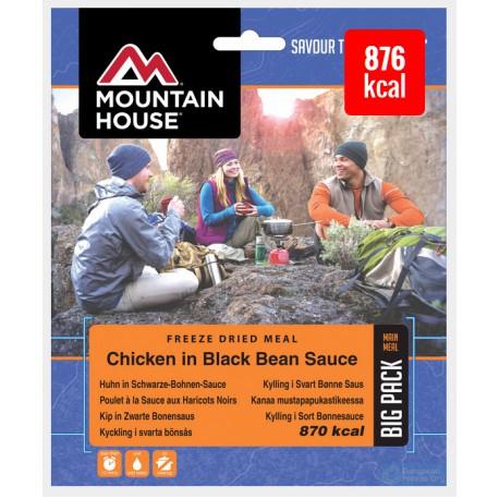 Mountain House Kuře se zeleninou a nudlemi v tmavé fazolové omáčce 2 porce expediční s (1)