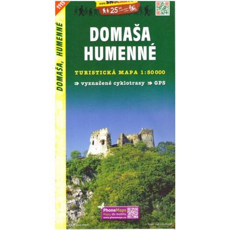 SHOCart 1115 Domaša, Humenné 1:50 000