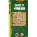 SHOCart 1115 Domaša, Humenné 1:50 000 turistická mapa