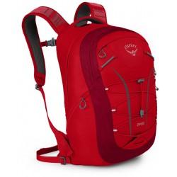 Osprey Axis 18 II městský batoh na notebook cardinal red