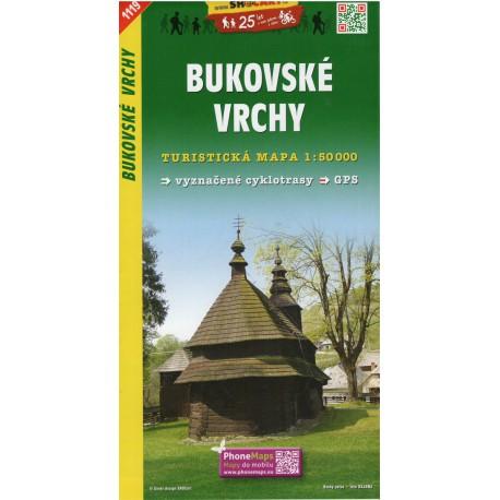 SHOCart 1119 Bukovské vrchy 1:50 000