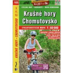 SHOCart 105 Krušné hory, Chomutovsko 1:60 000