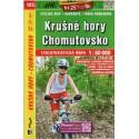SHOCart 105 Krušné hory, Chomutovsko 1:60 000 cykloturistická mapa