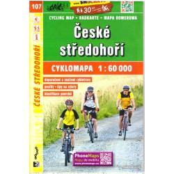 SHOCart 107 České středohoří 1:60 000